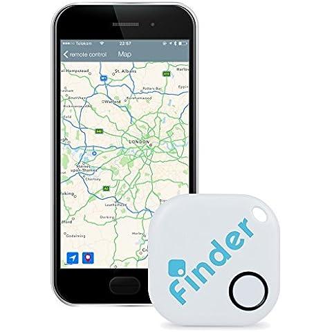 musegear finder Localizador de llaves | Encuentre sus objetos perdidos mediante la aplicación gratuita (iPhone y Android) | El gadget definitivo a modo de llavero o accesorio para el coche |