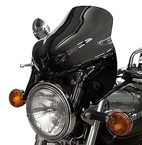 Saute vent Puig Top noir pour Moto Guzzi V7/ Cafe Classic/ Classic/ Racer/ Special, V11 Sport