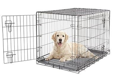Dogit 2 Door Wire Cage/Home, Black, 91 x 56 x 62 cm by R C Hagen Ltd