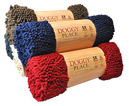 My Doggy Place Fußmatte, sehr saugfähig, Mikrofaser, strapazierfähig, schnelltrocknend, waschbar, verhindert Schmutz, hält Ihr Haus sauber (Größen: M, L, XL), Medium (31