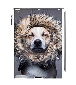 EPICCASE dog at saloon Mobile Back Case Cover For Apple Ipad 2/3/4 (Designer Case)