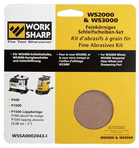 WORKSHARP Ersatz.Schleifblätter Set fein (3000 Sharp Work)