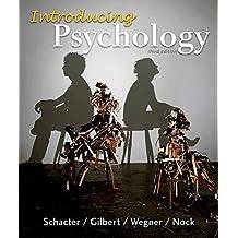 Introducing Psychology by Schacter, Daniel L., Gilbert, Daniel T., Wegner, Daniel M., (2015) Paperback