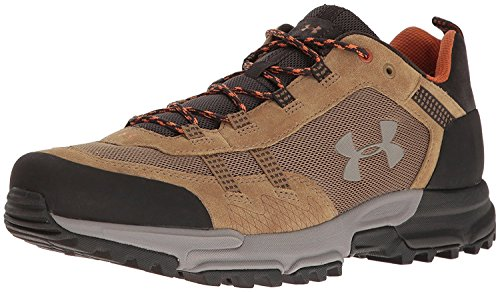 Under Armour - Post Canyon Low, scarponi da escursionismo da uomo da uomo Saddle/ Cannon/ Pewter