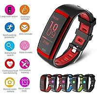 Teamyo – Rastreador de Fitness Activity Tracker Smart Banda de Pulsera podómetro Tensiómetro de frecuencia cardíaca