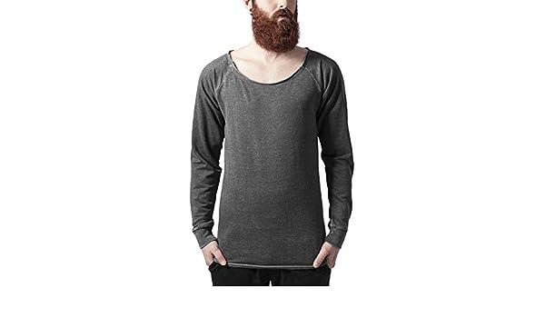 Edge Urban Crewneck Long Burnout Homme Sweat Open Shirt Classics q41I4U
