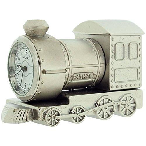 miniature-silvertone-metal-steam-engine-train-novelty-collectors-clock-imp79