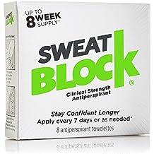 Sweat Block High Strength Antiperspirant Pads 8 Weeks' Supply