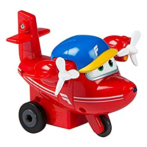 Super Wings - Flip, figura fricción deslizante Super Wings - 10,5 x 10,5 x 7,5 cm (ColorBaby 85135)