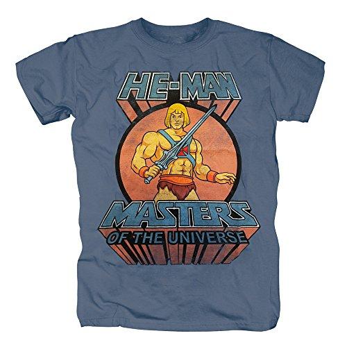 TSP HE-MAN - Master of the Universe T-Shirt Herren S (Shirt He Man T Kostüm)