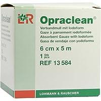 OPRACLEAN Verbandmull m.Jodoform 6cmx5m, 1 St preisvergleich bei billige-tabletten.eu