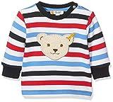 Steiff Baby-Jungen Sweatshirt Weiß (Bright White 1000) 50