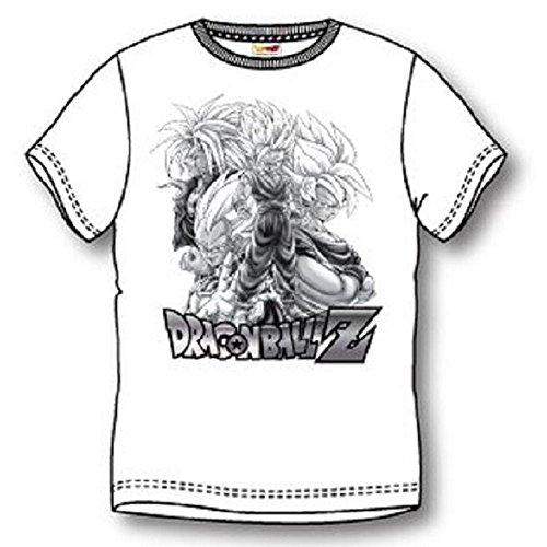T-Shirt Dragon Ball Z Mehrfarbig - Mehrfarbig