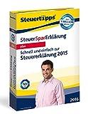 SteuerSparErklärung Plus 2016 (für Steuerjahr 2015)