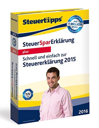 Preisvergleich Produktbild SteuerSparErklärung Plus 2016 (für Steuerjahr 2015)