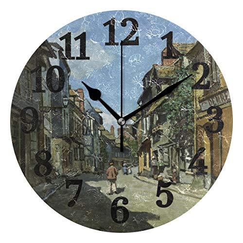 Wanduhr town clocks