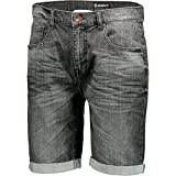 Scott Denim Short Factory Team Grau Gr. M