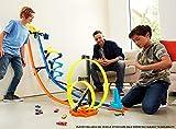 Hot Wheels GGH70 - Track Builder Senkrechtstarter Stunt-Set, Spielzeug ab 6 Jahren