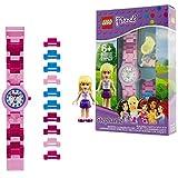 Reloj Infantil Modificable de Stephanie de LEGO Friends 8020172 con Pulsera por...