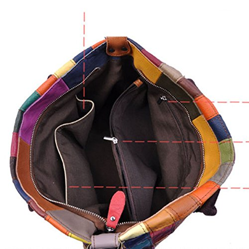 Eysee, Poschette giorno donna Multicolore Multicolore 35cm*25cm*11cm nero