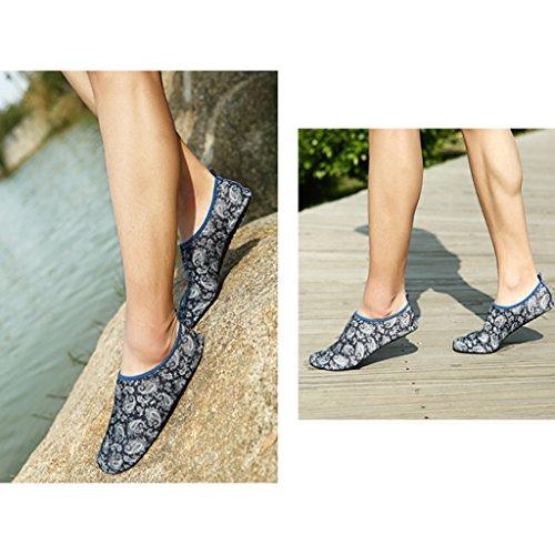Eagsouni® Para Sapatos Mulheres Praia De Sapatos Descalços 2schwarz Homens De Sapatos Sapatos Aqua De Sapatos Água Surf De Do Badeschuhe De Pele r4rCwqF