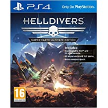 Sony Helldivers Super-Earth Ultimate, PS4 - Juego (PS4, PlayStation 4, Shooter, Arrowhead Game Studio, T (Teen), Básica + DLC, Sony)