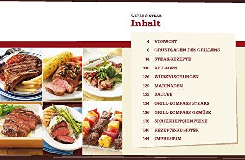 "51l1busO 0L - Original Weber Grillbibel | Weber's Steak - die Besten Grillrezepte + ""Grillmeister"" Sticker by Collectix"