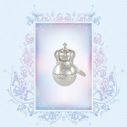 Krone Royal Crown Taschen - Jacken Schlüssel - Anhänger Edel Silber 72500