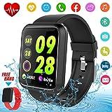 Montre Connectée,Bluetooth Smartwatch Android Smart Watch Homme Montre Sport Montre...