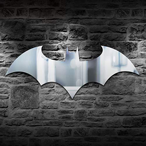 Led luz de la pared Personalidad Control remoto USB Batman Luz de espejo Colorido armario de la sala de estar del dormitorio del pasillo