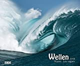 Wellen – Waves 2018 – Foto-Kunst – Wandkalender 52 x 42,5 cm – Spiralbindung