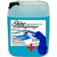 5 Ltr. Scherkopfreiniger Jet Clean System Kartuschen + Auslaufhilfe Jet & Smart Fluid Reinigungsflüssigkeit für Philips Rasierer der Serien 5000 / 7000 / 8000 / 9000 - 1250X - 1260