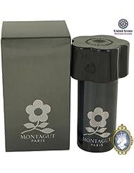 Montagut Paris Black 50ml/1.7oz Eau De Toilette Spray Cologne Fragrance for Men