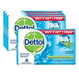 Dettol Cool Soap, 125g (Buy 3+Get 1 free of 125g Cool Soap)