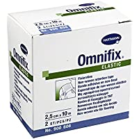 OMNIFIX elastic 2,5 cmx10 m Rolle 2 St Pflaster preisvergleich bei billige-tabletten.eu