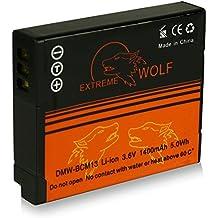 Power Batteria DMW-BCM13E DMW-BCM13 per Panasonic Lumix DMC-LZ40 | DMC-FT5 | DMC-TS5 | DMC-TZ37 | DMC-TZ40 | DMC-TZ41 | DMC-TZ55 | DMC-TZ56 | DMC-TZ60 | DMC-TZ61 | DMC-ZS30 | DMC-ZS35 | DMC-ZS40 e più… [ Li-ion; 1400mah; 3.6V ]