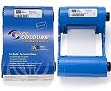 Zebra Color Ribbon YMCKO - Cinta de impresoras matriciales (Transferencia térmica, 200 páginas, P1xxi printers)