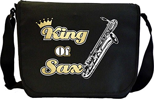 Saxophone-Sax-Baritone-King-Sheet-Music-Document-Bag-Musik-Notentasche-MusicaliTee