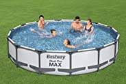 مجموعة حوض سباحة + مرشح مضخة 427 × 84 سم من بي/دبليو