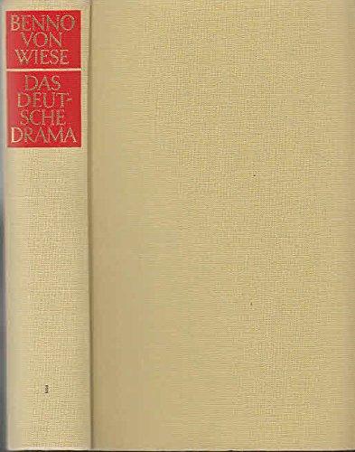 Das deutsche Drama. Band 1: Vom Barock bis zur Gegenwart, Interpretationen