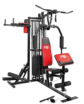 Christopeit Fitness-Station Profi Center de Luxe, Schwarz