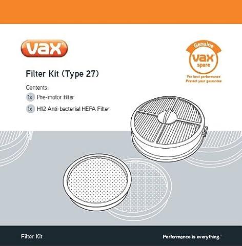 Vax Genuine Filter Kit (Type 27) - Air Upright