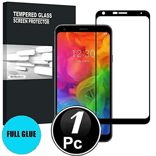Scott-DE LG Q7/LG Q7 Plus/LG Q7 Schutzfolie, 3D Curved Edge Glas Folie 9H Härte Panzerglas [Anti-Kratzen] [Anti-Bläschen] Bildschirmschutzfolie für LG Q7/LG Q7 Plus/LG Q7 [X1-Schwarz]