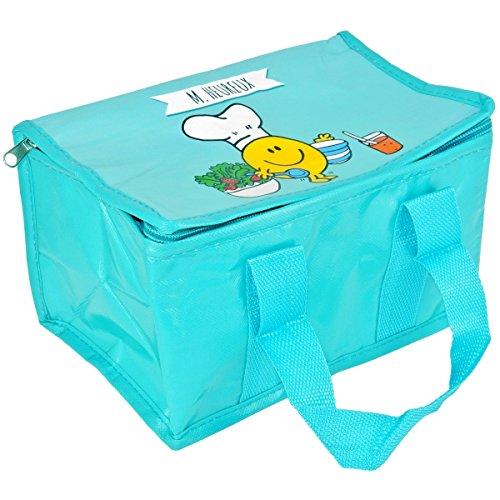 Mr et Mme - Lunch Bag Enfant Sac Repas Isotherme Mr Et Mme Heureux Bleu