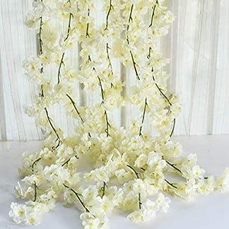 Homcomoda Flores Artificiales Rosas Falsas de Aspecto Real con Tallo para Bodas Ramos de Bricolaje Centros de Mesa Arreglo Fiesta Decoración del hogar