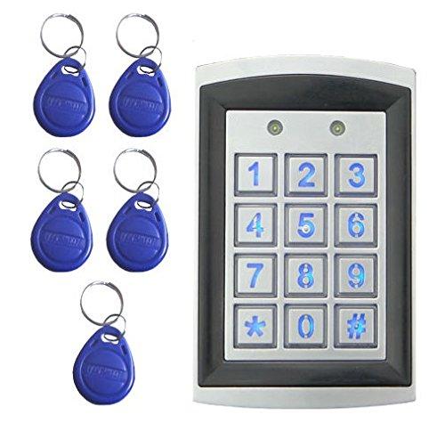 Wetterfestes Zugangssystem RFID Codeschloss Türöffner Zutrittskontrolle