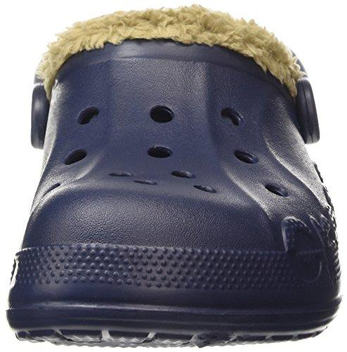 Crocs Baya Lined, Sabots mixte adulte Bleu (Navy/Khaki)