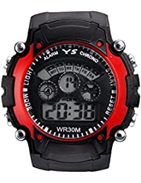 VITREND Red Sports Digital Watch for Boys and Girls
