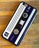 Art-design Custodia per iPhone 7 / iPhone 8 Cassetta Audio K7 Audio Vintage Retro DJ CD Cover Caso Silicone