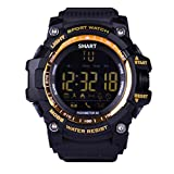 Fitness Tracker Smartwatch Android IOS,VNEIRW EX16 1.12 Zoll Bluetooth Sportuhren Intelligente Uhr mit Professional Wasserdicht,Walk/Sport-Überwachung/Wecker
